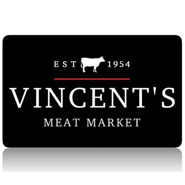 vincent's meat market giftcard
